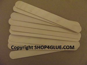 Epoxy mixing spatulas heavy duty large pack of 25 for resin adhesives glues paints etc